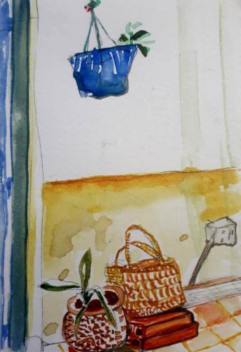 INVENTARIO - Acuarela sobre papel - 15x10cm