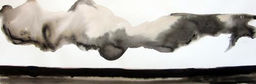 Tinta sobre papel - 25x70cm