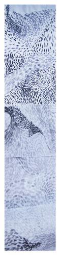 Tinta sobre papel - 100x340cm